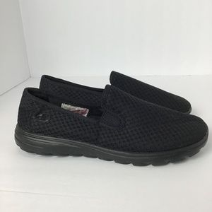 Champion Women's Slip-On Shoes Black Size 6.5
